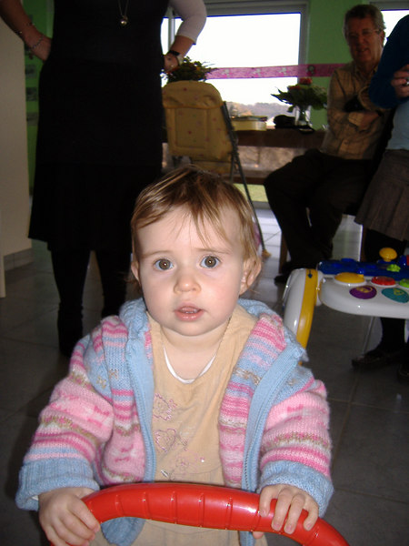 We went to Ciara's first birthday party.