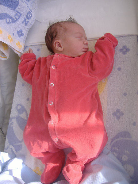 Cullen Joshua Diller - 18 hours old.