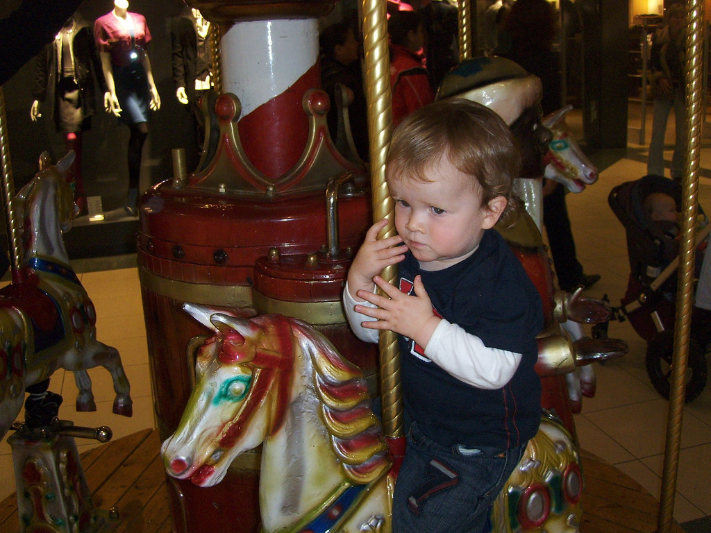 The carousel is serious business