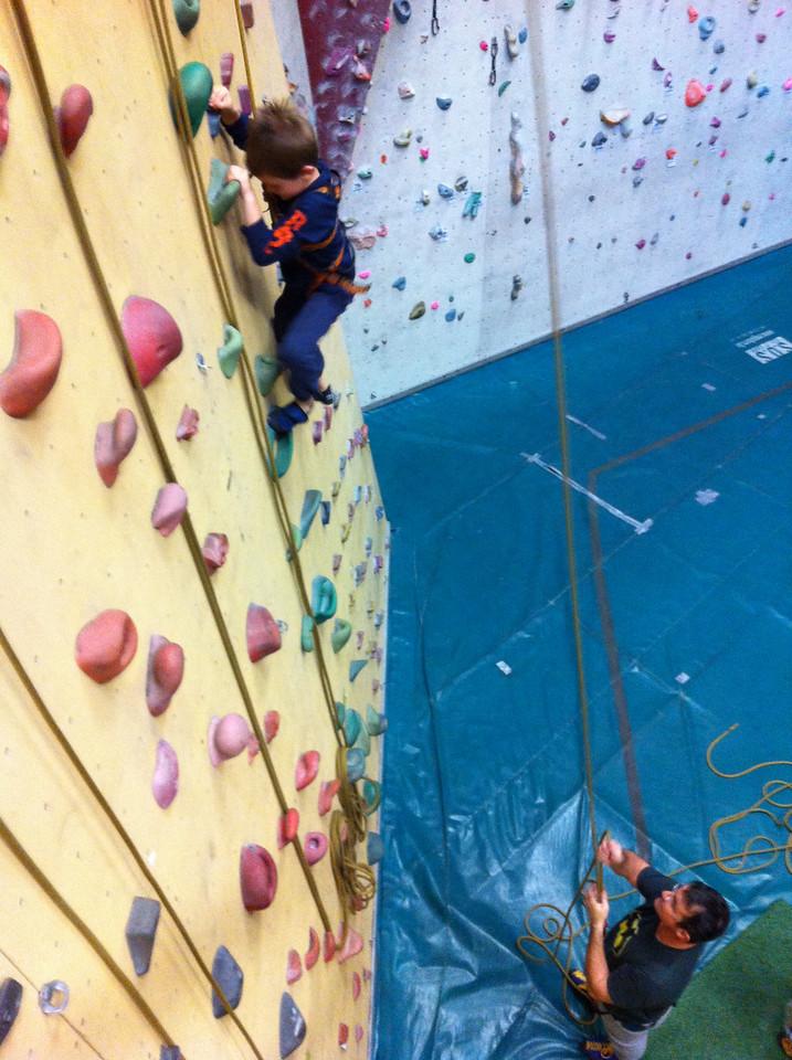052 Climbing High