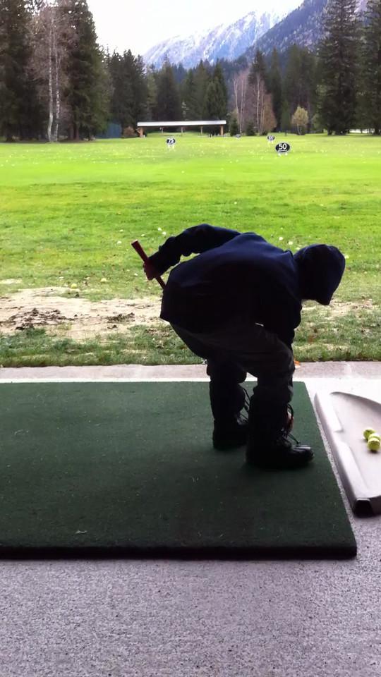 097 Jack Golfing