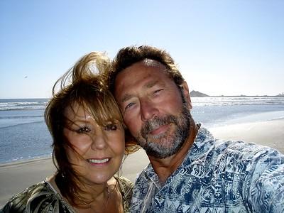 Windy seascape in Oregon.