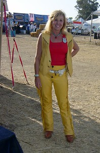 Me in my 'Cowboy Action Shooting' garb at the End of Trail tournament.