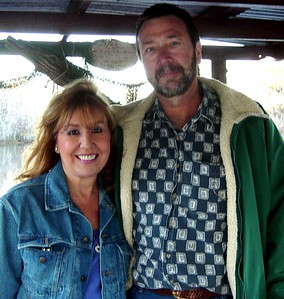 On Zam's Swamp Tour - in nowhere Louisiana, where the alligators grow so mean.....