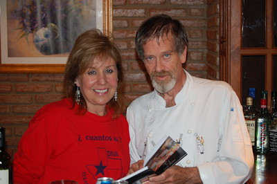 Linda & Oscar Kahan - chef at El Sueno (the Dream) lodge in Argentina.  Oscar was Ronald Reagan's chef in the White House.