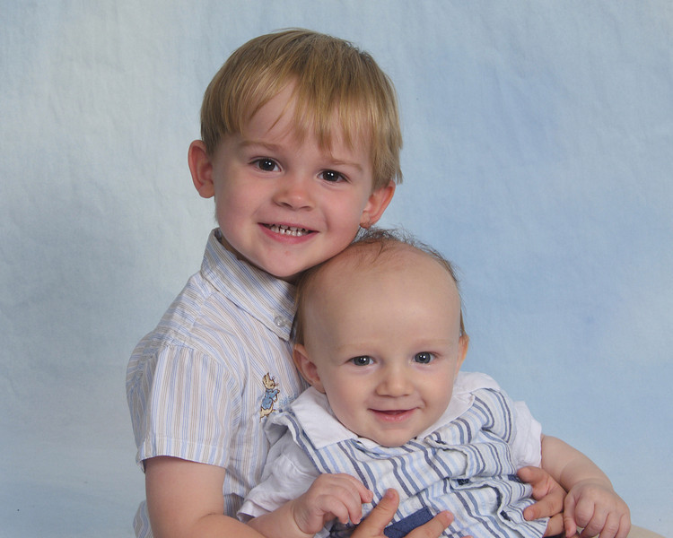 SO sweet - our handsome little men!
