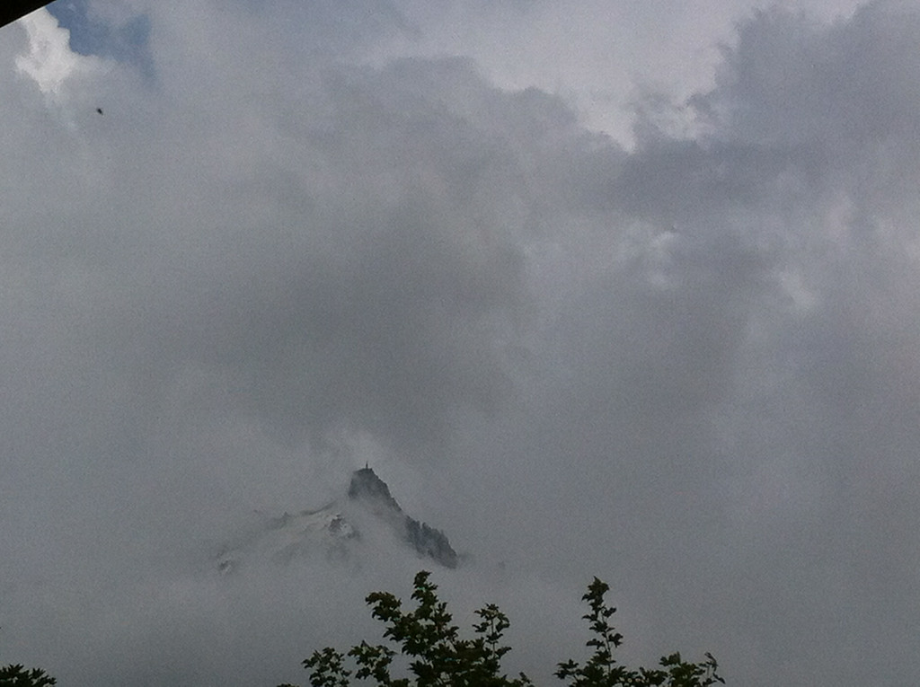045 Aiguille in the Clouds