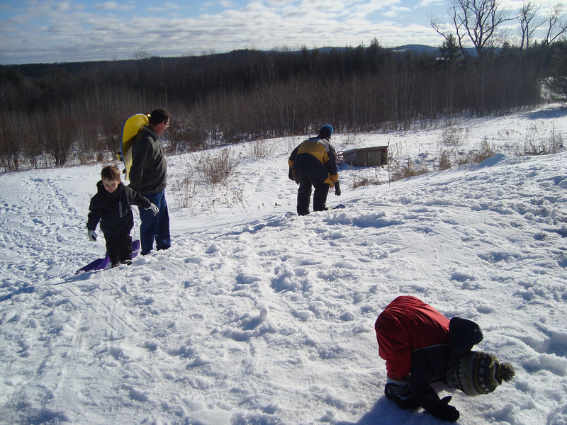 We all had a ton of fun playing in the snow