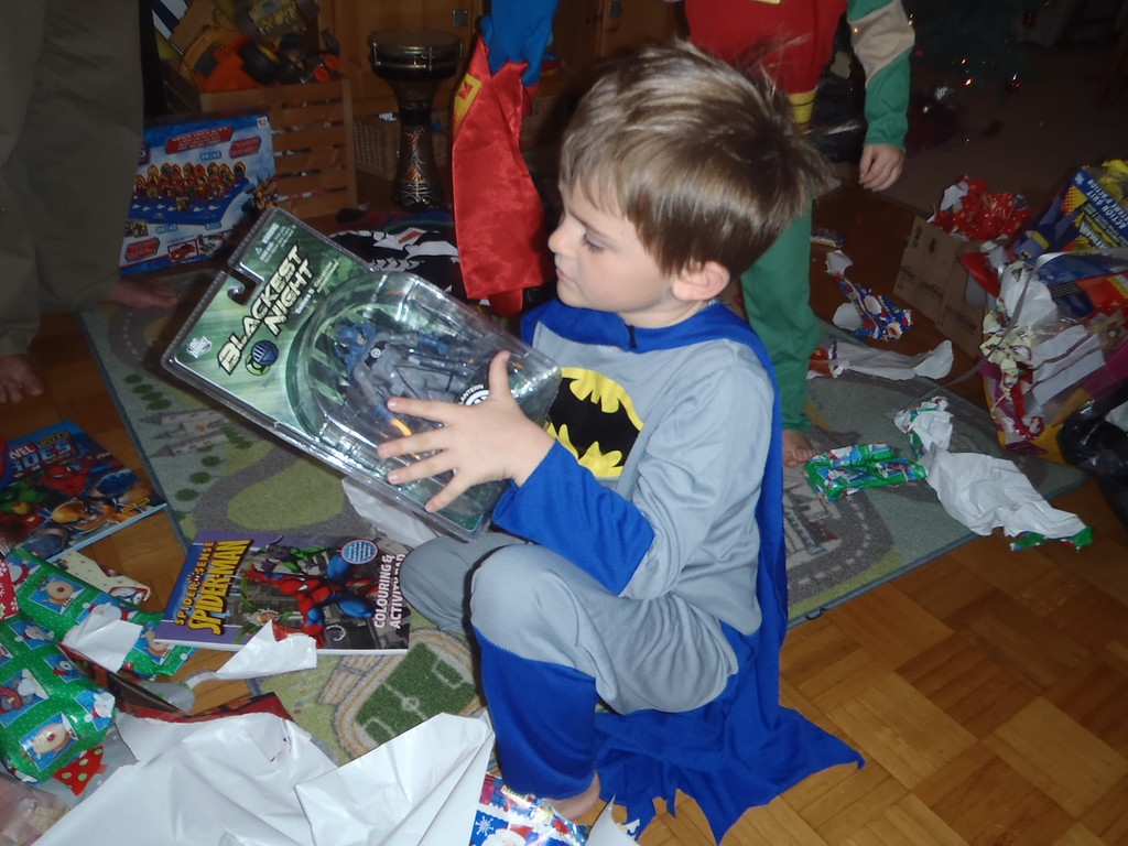 A bad guy Batman: thanks Santa!