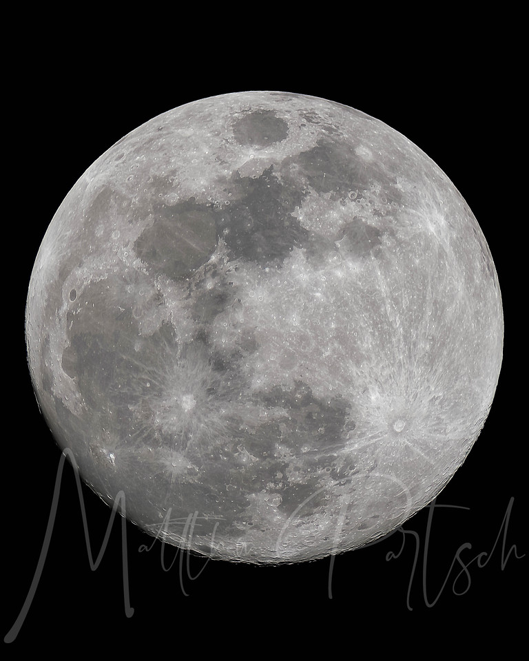 Full moon. Feb 28, 2018