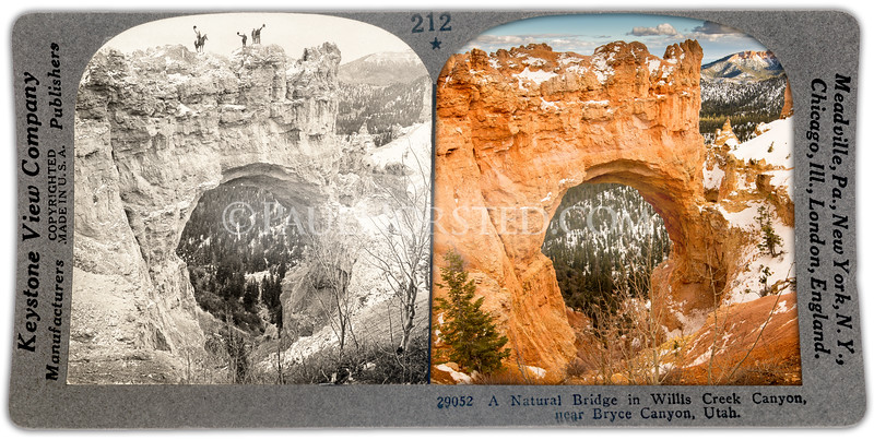 Bryce Canyon National Park, Natural Bridge.