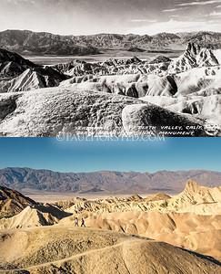 Death Valley National Park, Zabriskie Point.