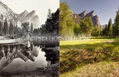 Yosemite National Park, Three Brothers.