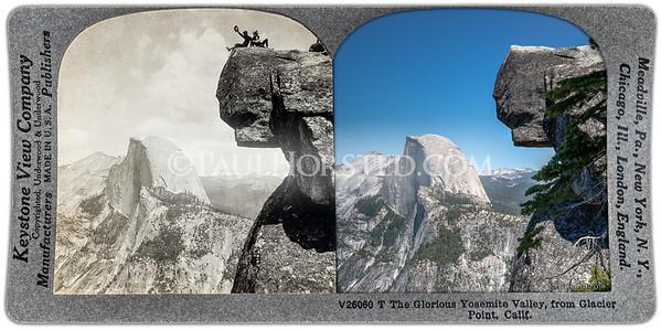Yosemite National Park, Glacier Point, Overhanging Rock.