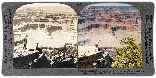 Grand Canyon National Park, Rowe's Point (today's Hopi Point.)