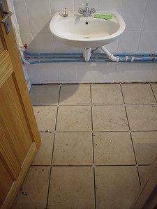 Full Tiles Done (2)  I didn't bother cleaning the tiles as I laid them as I'm not the tidiest of tilers