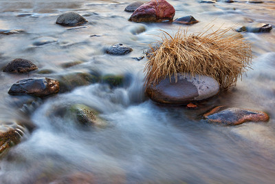 Clear Winter Flow, Fine Art Photography, Sedona