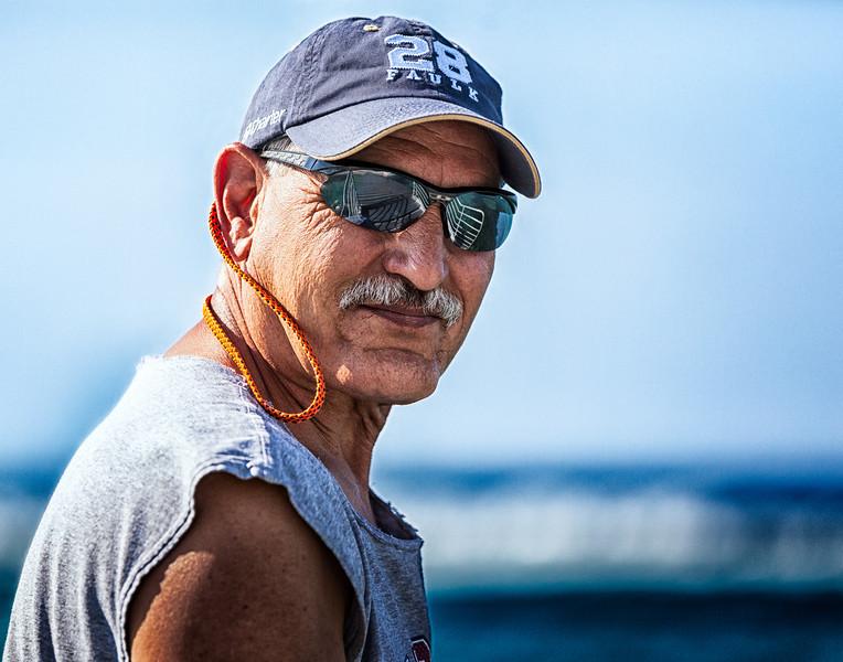 Tony, Fun Portrait, Rough, Grand Cayman Island