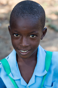 Student at Mfuewe Day Primary School supported by the Luangwa Conservation and Community Fund