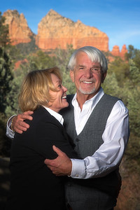 Couples Portrait, Soft, Sedona