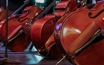 Cellos at the Boston Pops