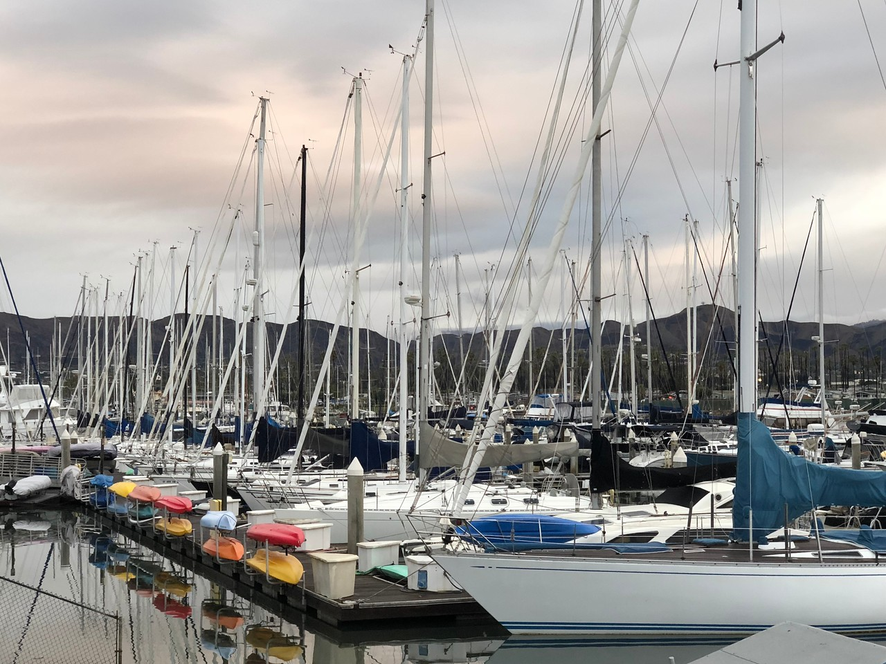 The marina from which we set sail fr the Channel Islands.