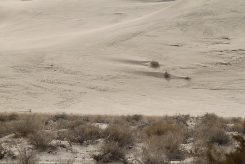 The base of Eureka Dunes