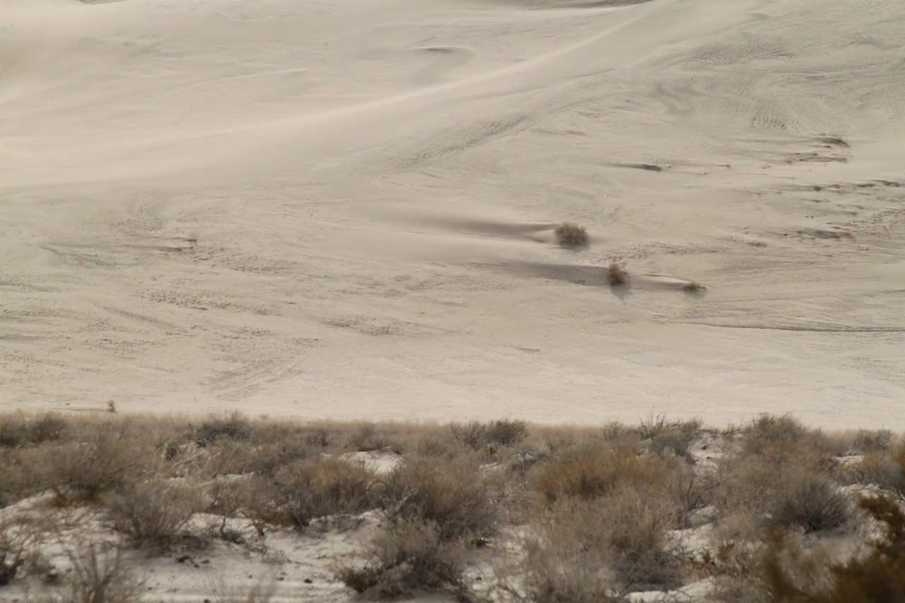 The base of Eureka Dunes