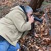 the Intrepid Photographer, 2/11/20 shooting Helleborus thibetanus
