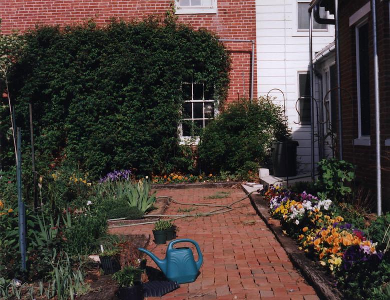 Courtyard spring 2000?