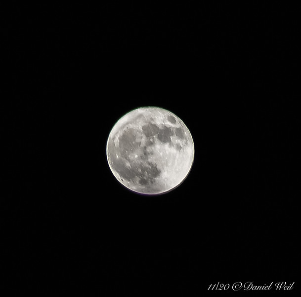 And the full moon of Halloween rises.... the second this month...