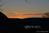 Sunset over VA hills....