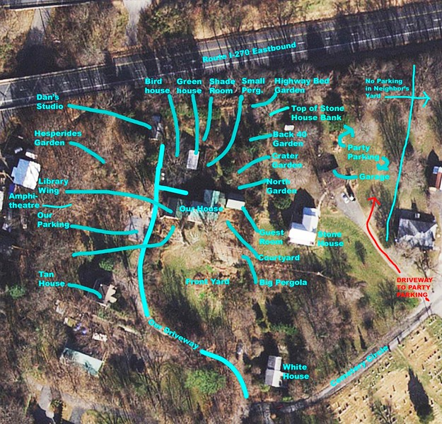 Wintersweet House Site Map and Photo copy