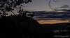 As the sun sinks over the Virginia hills... Halloween evening