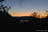 Sun setting over the VA leg of South Mountain....