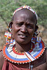 Masai woman. 1986.