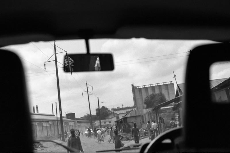 African village. 1986.