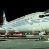 N166AW Night arrival in ABQ 1990
