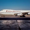 N531AW - Boeing 747 B206B, PHX, 1989