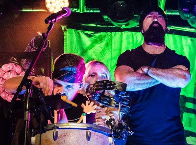 "Joel Cassady, Sarah Blackwood, Mike ""Beard Guy"" Taylor"
