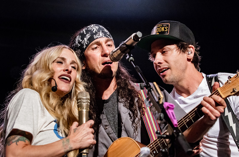 Sarah Blackwood, Gianni Luminati, Ryan Marshall