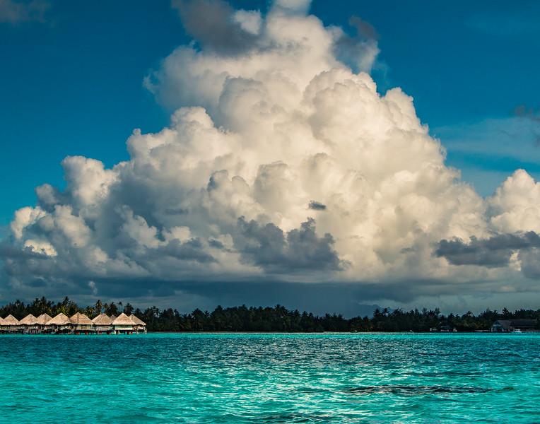Storm over Bora Bora