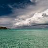 Le Taha'a Island afternoon storm