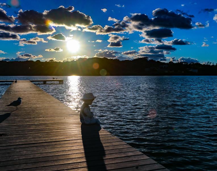 What's up, dock?  Montauk, New York