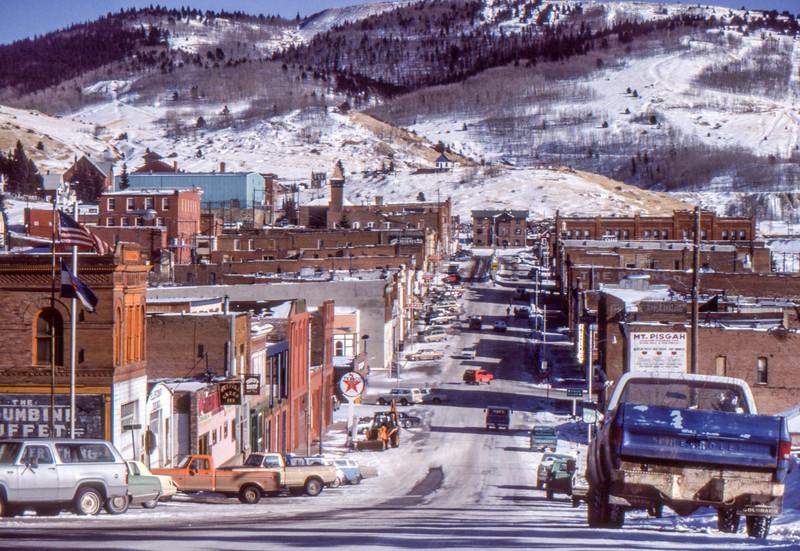 Cripple Creek Winter, 1984