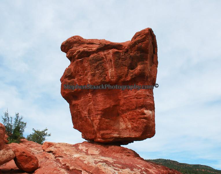 Balancing Rock, Garden of the Gods, National Landmark
