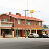 Australian landscapes and scenes -  Murray, Lake Hume region.Tallangatta Hotel