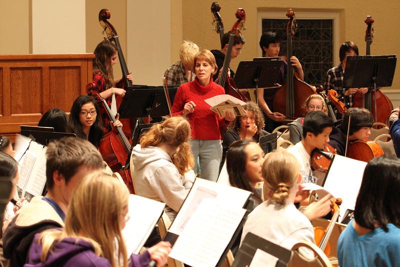 Concerto Concert Rehearsal