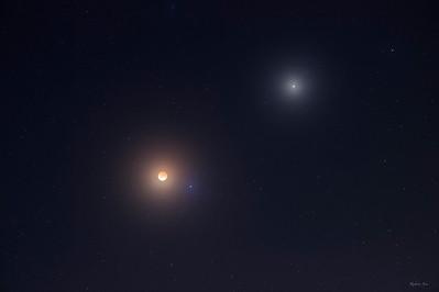 Lunar Eclipse Triad