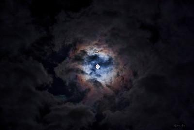 Iridescent Moon